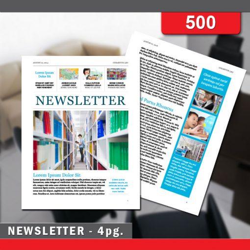 Newsletter - 500